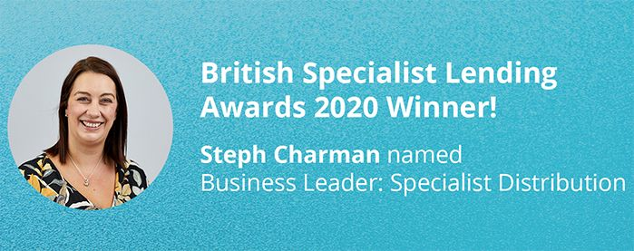 Sesame Bankhall Group's (SBG) Specialist Lending Relationship Manager, Steph Charman has been named Business Leader: Specialist Distribution at this year's British Specialist Lending Awards.  image